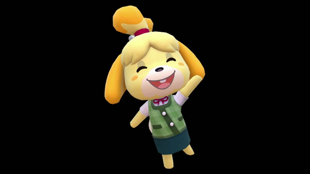 animal crossing isabelle voice clips no background music youtube