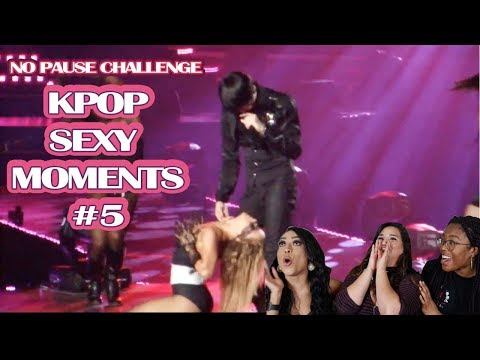 KPOP SEXY MOMENTS #5 || NO PAUSE CHALLENGE || TIPSY KPOP