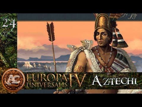 Aztechi #24 - Sunset Invasion || EU4 Gameplay ITA
