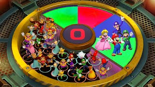 Mario Party Series - Colection of Best Dangerous Minigames - Mario vs Yoshi vs Luigi vs Donkey Kong