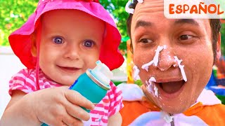 Así es como se lavan los juguetes +otras Canciones infantiles de Maya y Mary