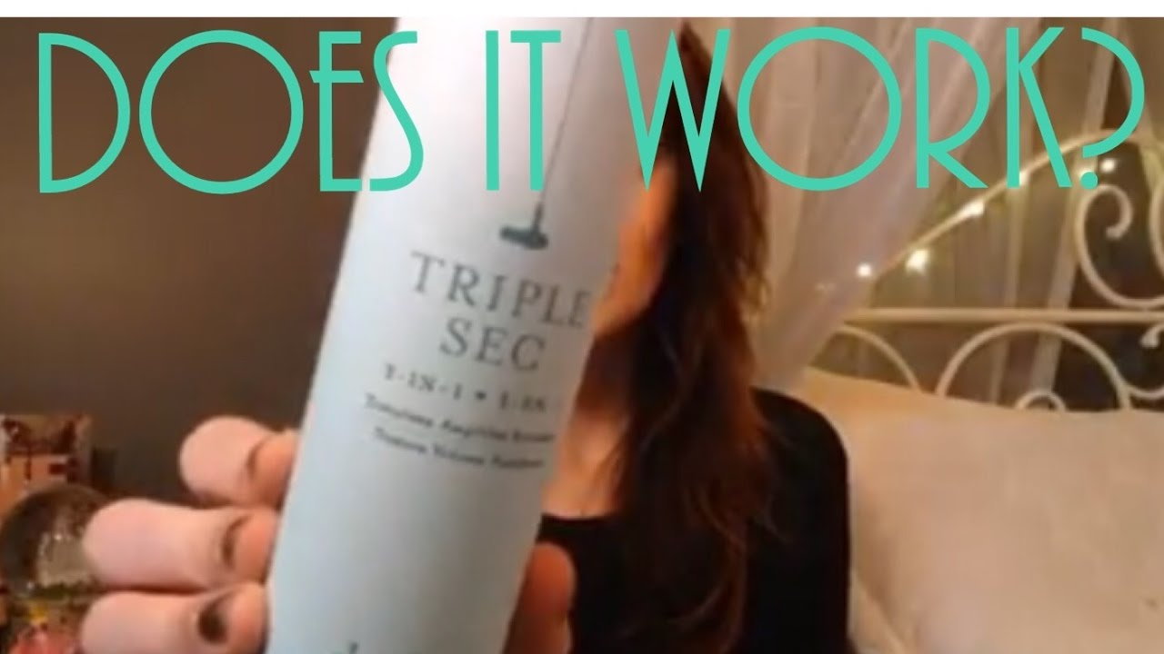 Dry Bar Triple Sec Review Does It Actually Work