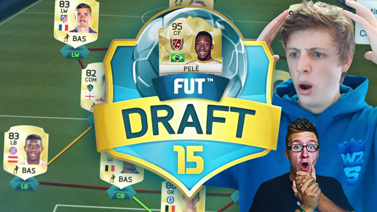 how to get to fut draft on fifa 15
