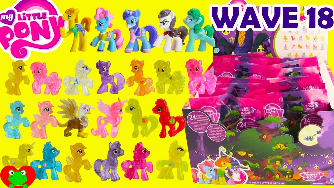 My Little Pony Wave 18 Blind Bags Youtube