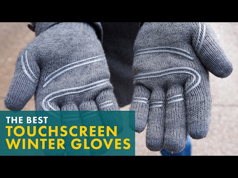 d11df0886 The Best Touchscreen Winter Gloves - YouTube