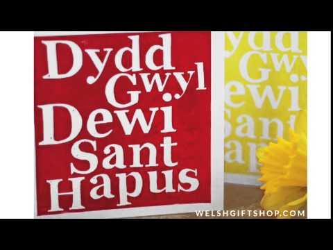How to say Dydd Gwyl Dewi Sant Hapus - Happy Saint David's Day in Welsh