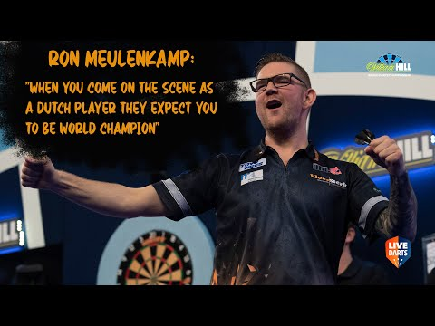 """Ron Meulenkamp: """"When you come on the scene as a Dutch player they expect you to be World Champion"""""""