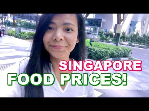 Food Prices in SINGAPORE/ Grocery Food in Singapore 🇸🇬