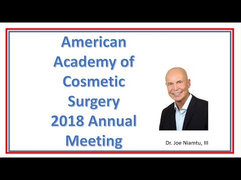 2018 Scientific Session of the American Academy of Cosmetic Surgery