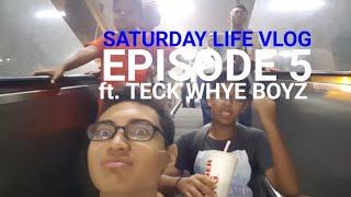SATURDAY LIFE VLOGS EPISODE 5 WITH TECK WHYE BOYZ!!!ft. I Am Txrantula