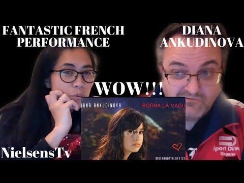 🇩🇰DANISH REACTS TO DIANA ANKUDINOVA | ВОЛНА LA VAGUE (WAVE) | WOW FANTASTIC FRENCH PERFORMANCE!!!