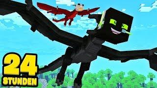 24 STUNDEN als DRACHEN LEBEN?! - Minecraft [Deutsch/HD]