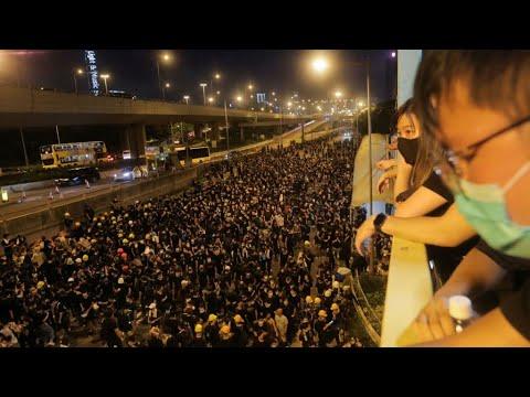 هونغ كونغ: تجدد الاحتجاجات المناهضة لمشروع قانون تسليم المتهمين للصين  - نشر قبل 3 ساعة