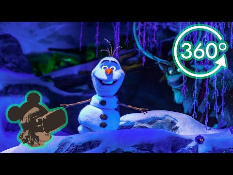 360º Ride on Frozen Ever After at EPCOT