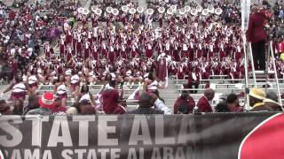 2015 AAMU Band vs Alabama State - Magic City Classic Band Clips
