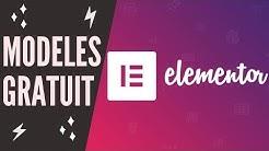 Où trouver des Modèles de site gratuit ? WordPress - Elementor