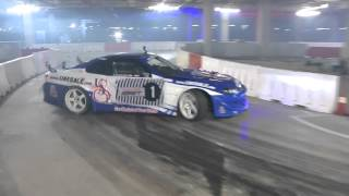 Ahmed Daham Keep #CPDrift #Redbull Carpark drift 2015 Dubai