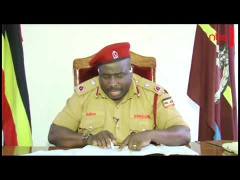 Uganda Prisons Spokesperson Frank Baine on Besigye