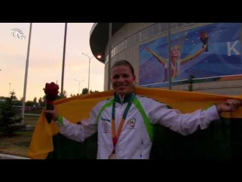 Universiada: Grinčikaitė iškovojo 100 metrų rungties sidabaro medalį