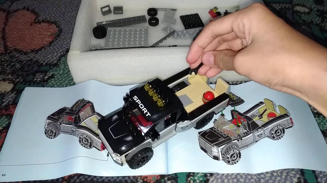 Cara membuat lego kapal part 3 no 60148 - YouTube