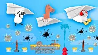 MOST DANGEROUS SKY RACE! (Ultimate Chicken Horse)