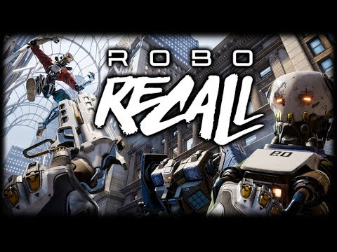 THE BEST VR GAME?! Robo Recall - Oculus Rift + Touch Gameplay