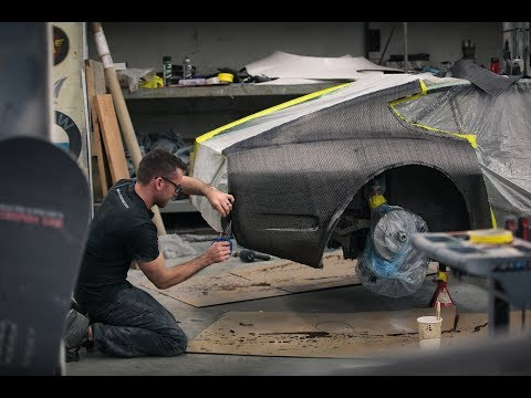 How to Make Carbon Fiber Quarter Panels for 240z (Ep #7) (4K)