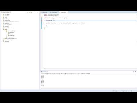 Java Game Design - Making A Moving Player