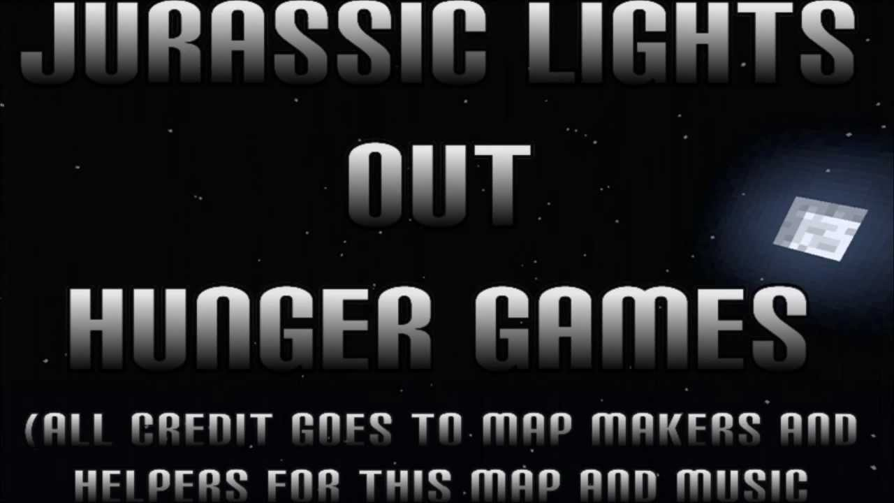 Minecraft xbox hunger games   Jurassic Lights Out   w/ Map