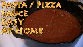 Pasta Pizza Sauce At Home Easy And Delicious