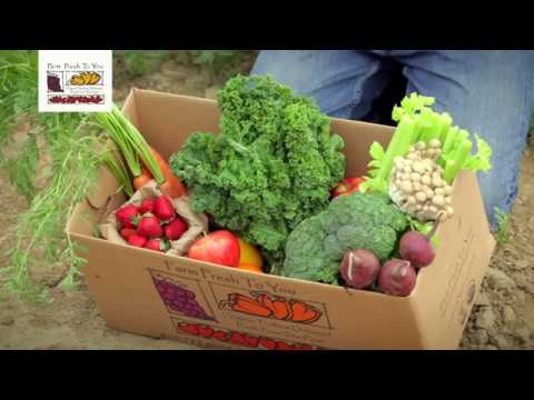 Fruit & Veggie Delivery - Farm Fresh To You