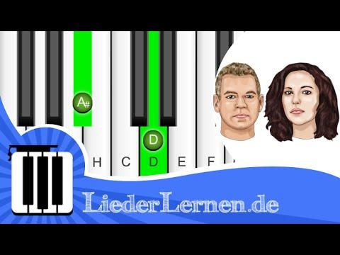 Rosenstolz - Blaue Flecken - Klavier lernen - Musiknoten - Akkorde
