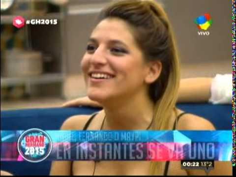 GH 2015: María Paz fue expulsada con el 56.6% de los votos