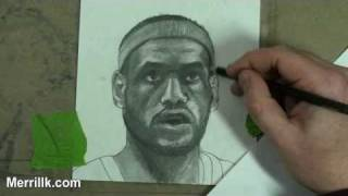 How to Draw Lebron James Step by Step