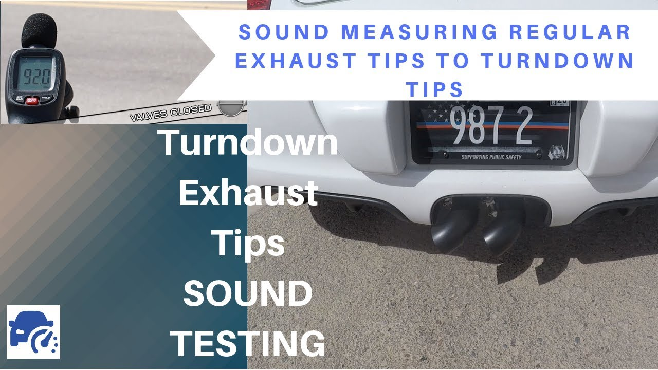 turndown exhaust tips better racetrack compliance soul exhaust system