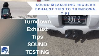 Turndown Exhaust Tips - Better racetrack compliance? SOUL exhaust system