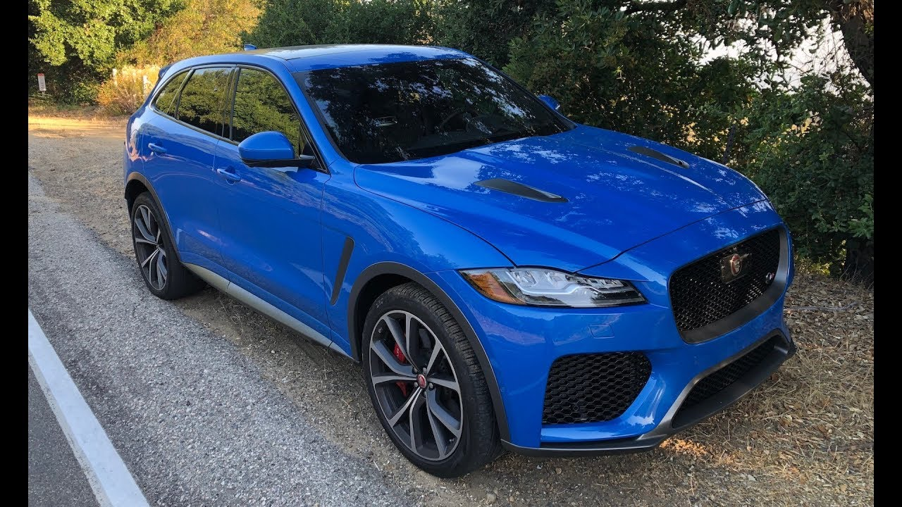 Jaguar Suv F Pace >> The F Pace Svr Is Jaguar S Answer To The X3m One Take