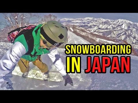 SNOWBOARDING IN JAPAN! - Gala Yuzawa Ski Resort | VLOG