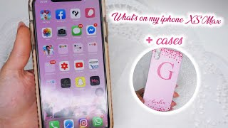 WHATS ON MY  PHONE XS MAX  COVER в™Ў