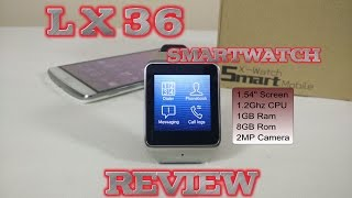 LX36 Smartwatch REVIEW - Samsung Gear 2 R380 Clone?
