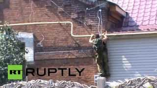 Real-Time Combat: Donetsk militia in shootout with Kiev forces for Ilovaysk