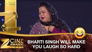 Bharti Singh Will Make You LAUGH So Hard | Zee Cine Awards 2017