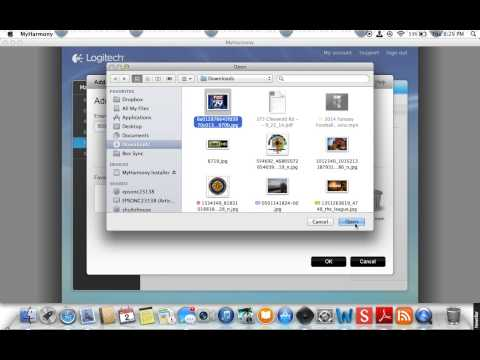 Logitech Harmony Remote 650 - Setup of favorite channels