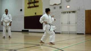 KARATE -DO, SHOTOKAN J.K.A. KATA KANKU DAI