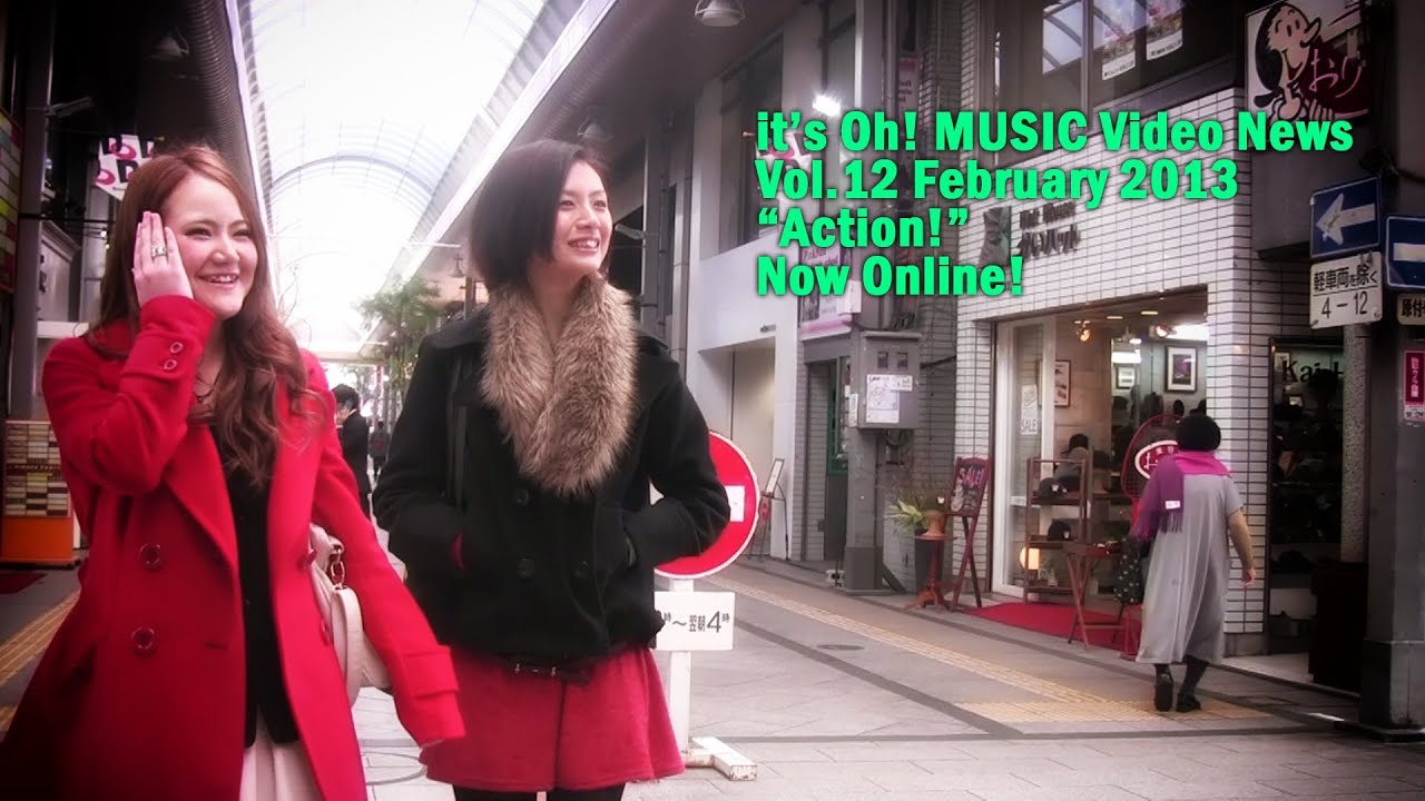 it's Oh! MUSIC Video News Vol.12 February 2013