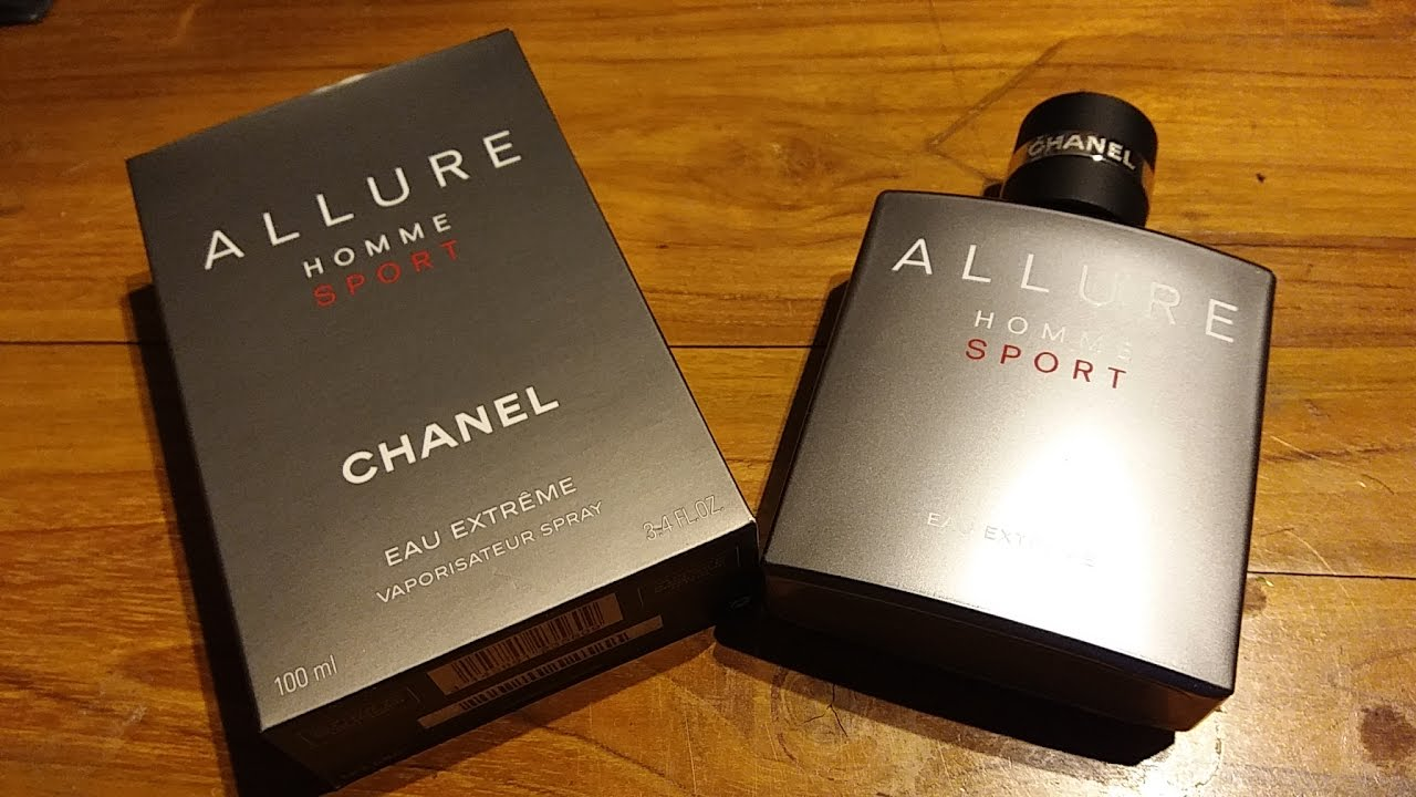 Chanel Allure Homme Sport Eau Extreme (EDP) For Men (2012) - YouTube a2bfb78b99