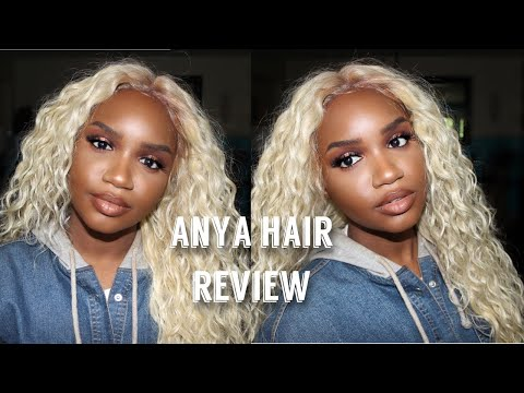 Synthetic Wig Under $30   Sensationnel Lace Front Wig Review   Anya
