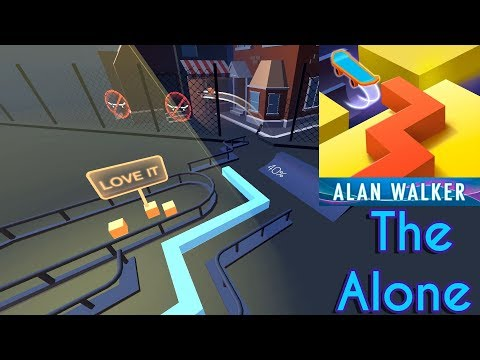 Dancing Line - The Alone (Alan Walker) 4K Widescreen