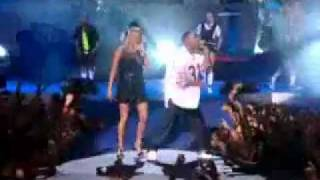 fergie feat  ludacris  - glamorous live at pepsi smash superbowl