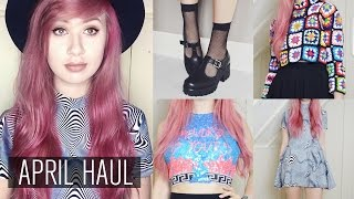 April Haul | UNIF, TIALS, Missguided, Moschino etc.